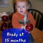 Brady at 15 Months