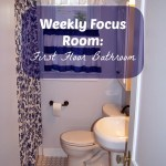 Weekly Focus Room:  First Floor Bathroom
