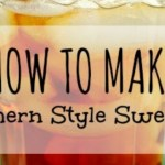 How to Make Southern Style Sweet Tea