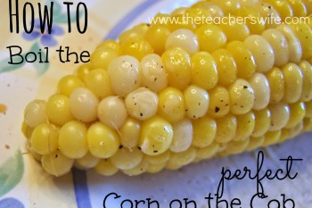 How to Boil the Perfect Corn on the Cob