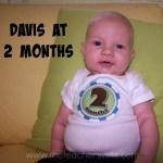 Davis at 2 months