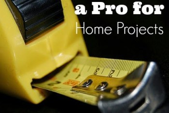 When to Hire a Professional for Home Projects