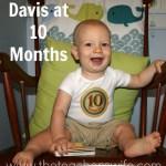 Davis at 10 Months