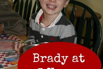 Brady at 3 Years