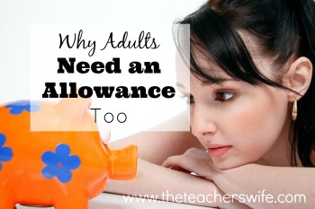 Why Adults Need an Allowance Too