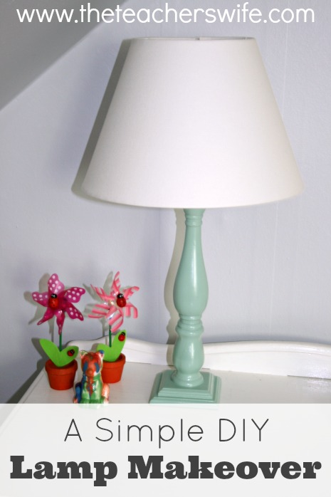 A Simple DIY Lamp Makeover