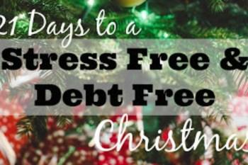 21 Days to a Stress Free & Debt Free Christmas