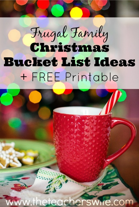 Frugal Family Christmas Bucket List Ideas