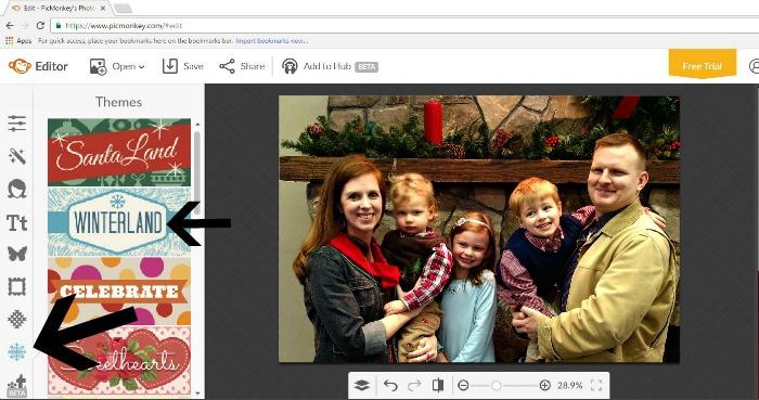Make Your Own Photo Christmas Card