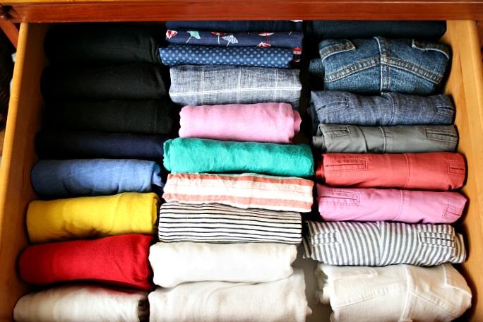 The KonMari Method:  Organizing Clothes