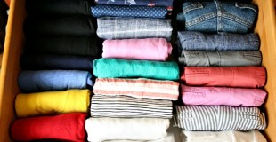 Learn how to use the KonMari method of organizing clothes to keep your closets and drawers neat and tidy!