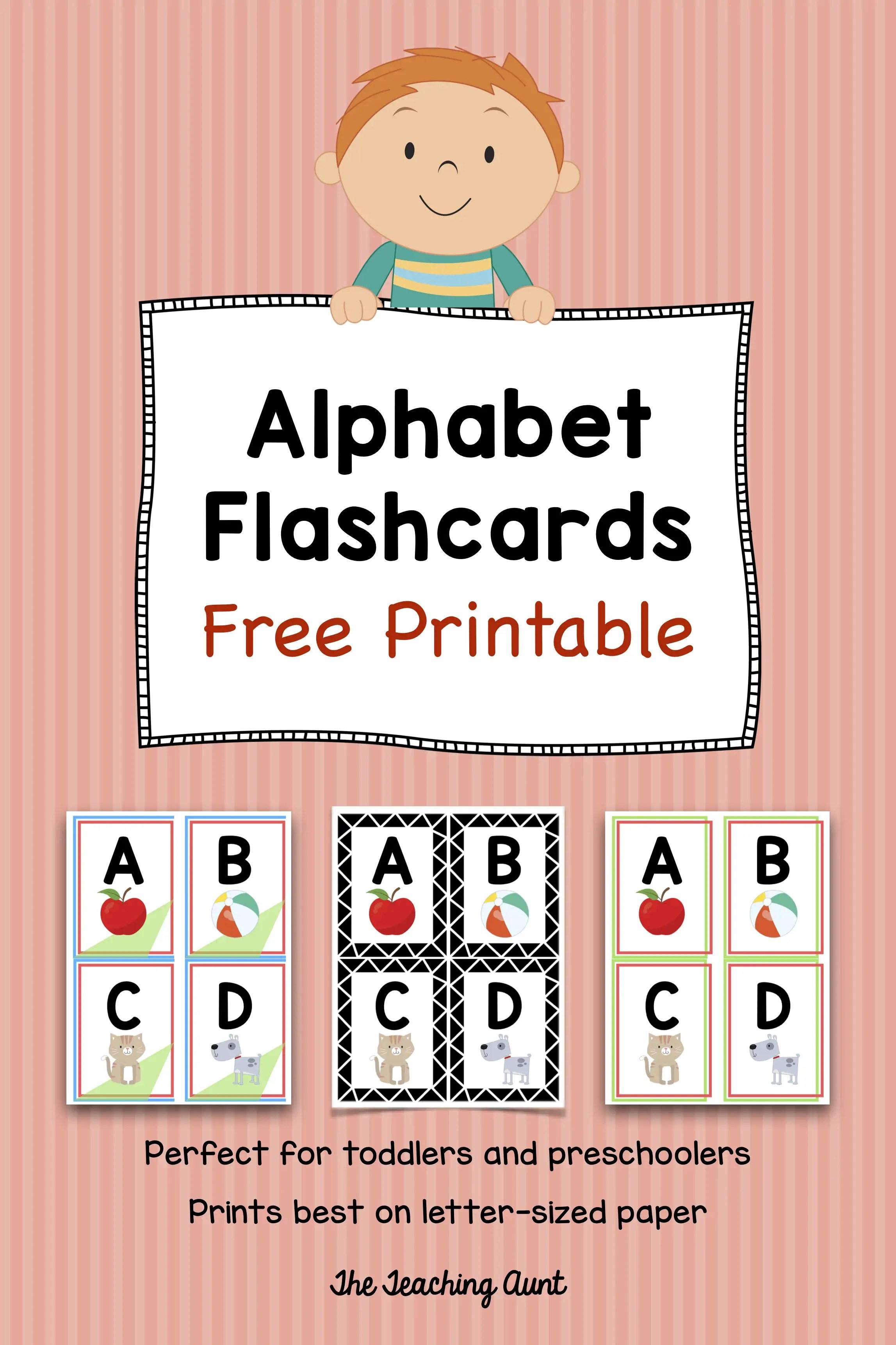 image regarding Free Printable Alphabet Flash Cards titled Alphabet Flashcards Cost-free Printable - The Training Aunt