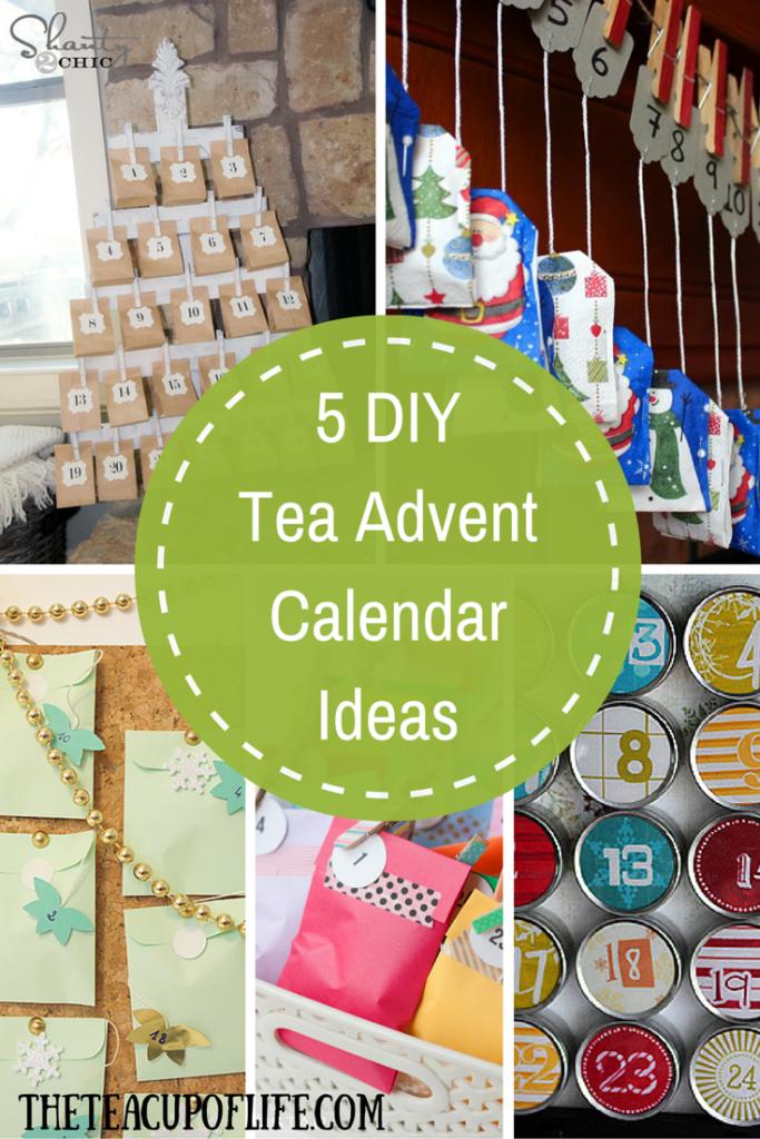 5 DIY Tea Advent Calendar Ideas