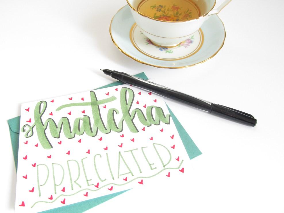 Tea Pun Card