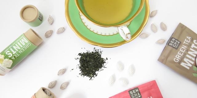 Tea Infused Mints from Sencha Naturals