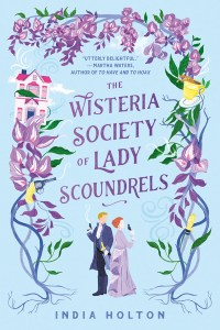 Book cover of The Wisteria Society of Lady Scoundrels