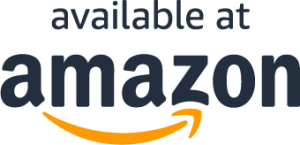 """A badge that says """"available at amazon"""""""
