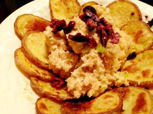 Cheesy Rice and Potato Medallions Flower 2.1.17