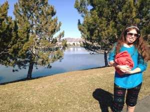 Walk with Lillian Vintage Lake 3.9.17