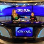 Thomas and Camilla on KOLO 8 with Biggest Little Book 4.7.17 #2