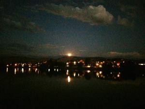 Moonlit Walk With Thomas Vintage Lake 8.8.17