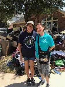 Monica and Kimberly Post-Harvey Hurricane 9.9.17