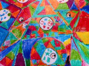 Rainbow of Emotions by Lillian Abstract Art 2015