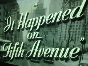 It Happened on Fifth Avenue Movie 2017