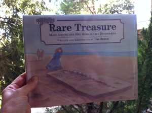 Rare Treasure Mary Anning Book 2017
