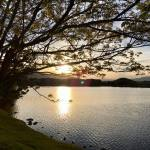 Sunset Walk with Lillian Vintage lake 5.3.18 #12
