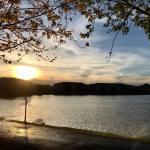Sunset Walk with Lillian Vintage lake 5.3.18 #15