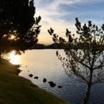 Sunset Walk with Lillian Vintage lake 5.3.18 #2