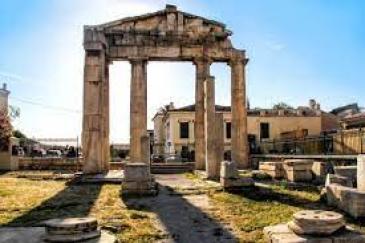 Roman Agora in Athens, Greece   Greeka