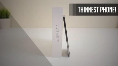 World's Thinnest LTE Phone | BLU Vivo LTE Air