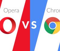 ChromeVsOpera
