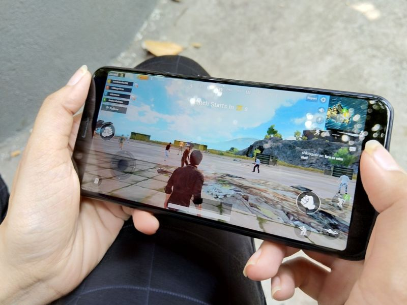PUBG is a delight to play on the ZenFone Max Pro M1
