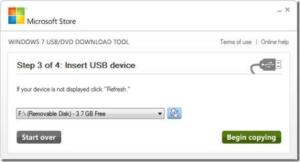 Step 2 Create Bootable USB Pen Drive