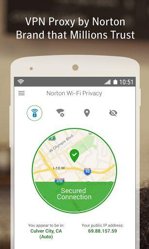 Download Norton Wifi Privacy VPN Proxy Security & Unblock
