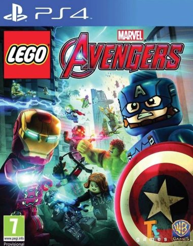 LEGO Marvel Avengers PS4 - front