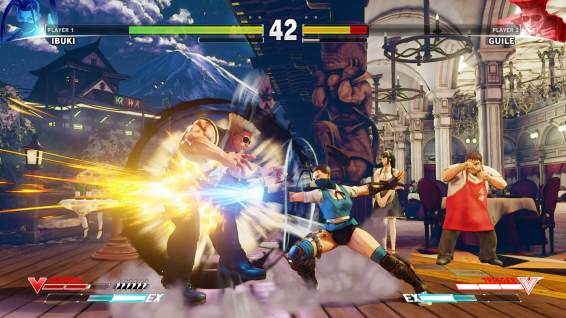Street Fighter 5-Ibuki-vs-Guile