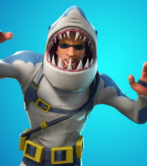 fortnite skins chomp sr