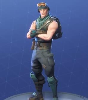 fortnite skins recon scout