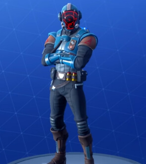 fortnite skins the visitor
