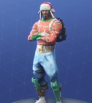 fortnite skins yuletide ranger