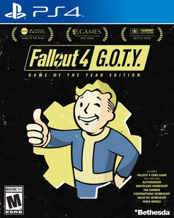 Fallout 4 GOTY (Game of the Year Edition)