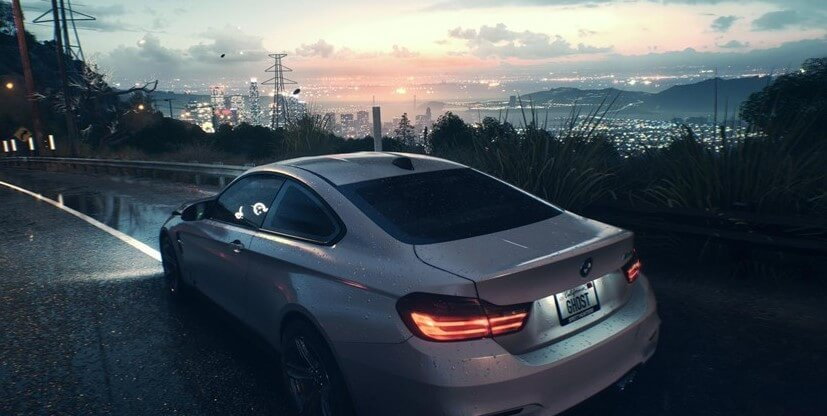 Need for Speed PS4 - city-view
