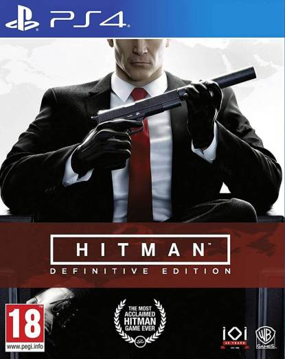 Hitman-Definitive Edition PS4-front