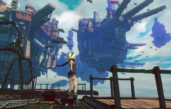 Gravity Rush 2 - gameplay-2- unique and beautiful atmosphere