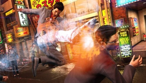 Yakuza 6-The Song of Life-gameplay