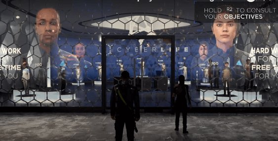Detroit Become Human game play 1